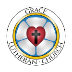 Based on the traditional lutheran rose this primary color logo is smooth and modern